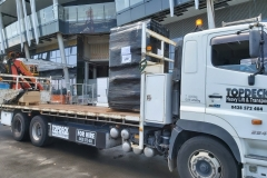Topdeck Transport and Heavy Lift - Delivery to Barangaroo, Crown Casino, Sydney