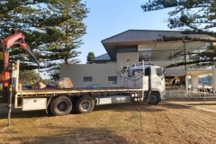 Topdeck Transport and Heavy Lift - Delivering and Installing a Sculpture, Avalon Beach